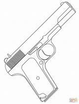 Gun Coloring 1500px 96kb 1136 sketch template