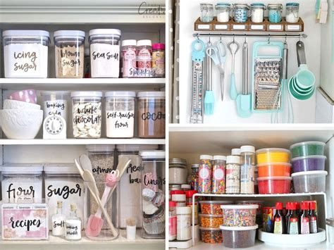 organizing kitchen cupboards 14 baking cabinet organization ideas worth copying she 1266