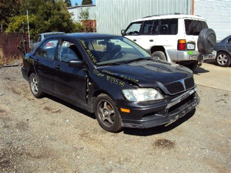 Mitsubishi Lancer 2003 Parts by 2003 Mitsubishi Lancer Oz Model 2 0l At Fwd Color Gray Stk