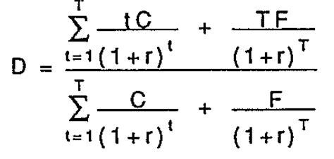 duration  convexity  measure bond risk