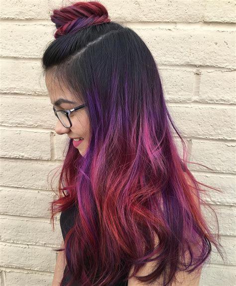 ombre rambut  rumah hannys blog