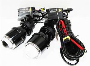 Projector Hid Xenon Fog Lights Universal 6000k Cool White Relay  U0026 Ballast Pro