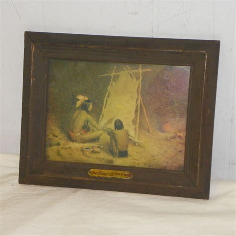 Bargain John's Antiques   The First Lesson Native American