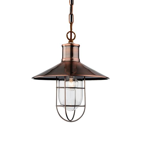 firstlight 2306ac crescent antique copper ceiling pendant