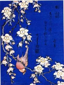 Hokusai, il cardellino e il ciliegio piangente A Oriente di dove?