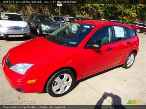2005 ford focus zx5 ses hatchback in infra red photo no