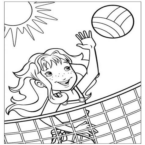 disegni da col disegni pallavolo da stare