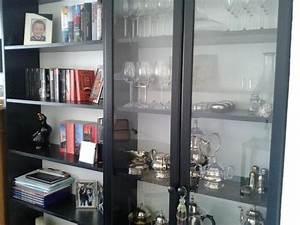 Ikea Billy Vitrine : regale ikea billy schwarz mit vitrine und kommode in hohensch ftlarn wohnzimmerschr nke ~ Markanthonyermac.com Haus und Dekorationen