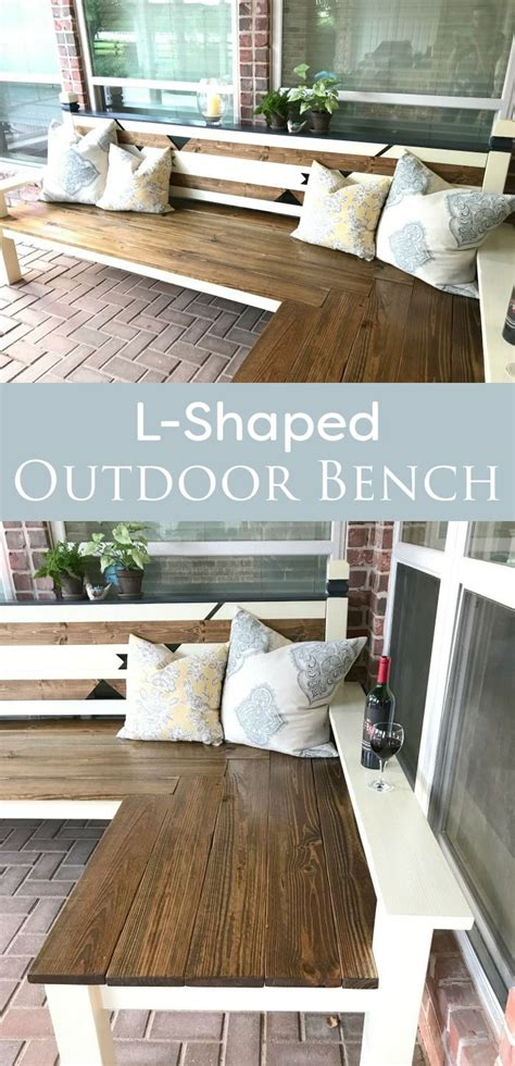 shaped outdoor bench   workshop projects diy