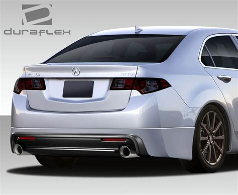 2009 Acura Tsx Kit by 2010 Acura Tsx Rear Lip Add On Kit 2009 2014 Acura