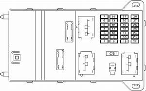 Lincoln Mkz  2007 - 2009  - Fuse Box Diagram