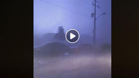 Aterrador VIDEO del momento de la tormenta en Nuevo Laredo ...