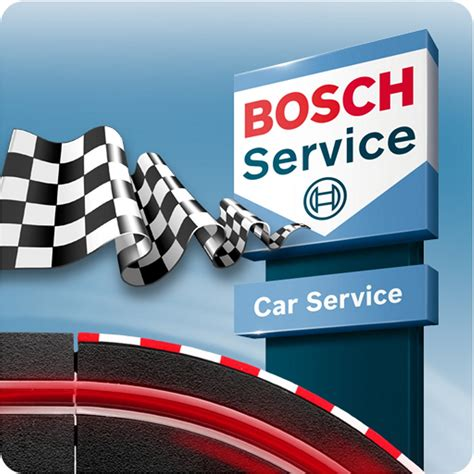 Car Service by New Bosch Car Service Racing App Helps Motorists Get The