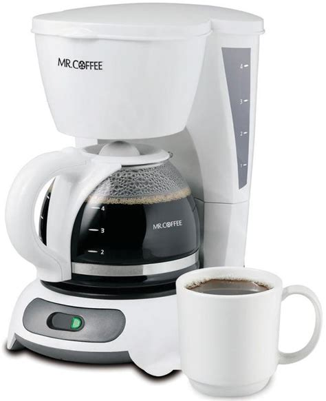 Best prices on white sunbeam in coffee makers. Mr. Coffee Simple Brew 4-Cup Switch Coffee Maker, White ...
