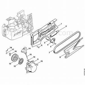 Stihl Ts 460 Disc Cutter  Ts 460  Parts Diagram  F