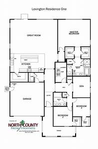 Lexington Floor Plans New Homes In Escondido 1  U0026 2 Story