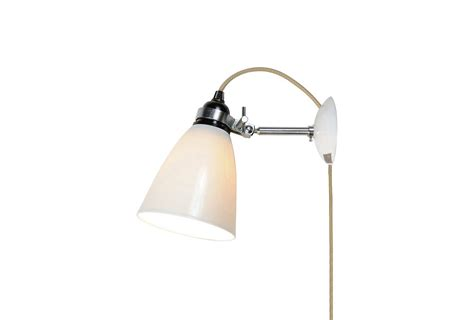 grey white industrial wall light plug in sconce uk ideas