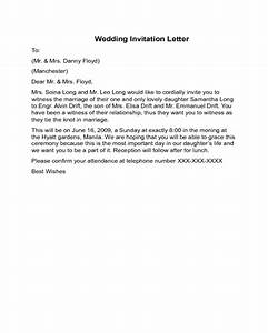 wedding invitation letter sample edit fill sign online With wedding invitations letters sample