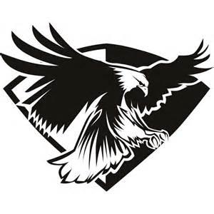 Eagle Clip Art Black and White