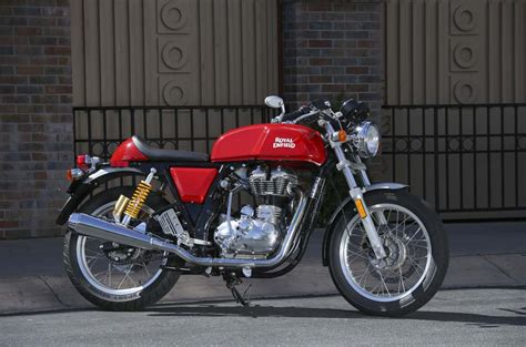 Enfield Continental Gt Image by 2014 Royal Enfield Continental Gt Review