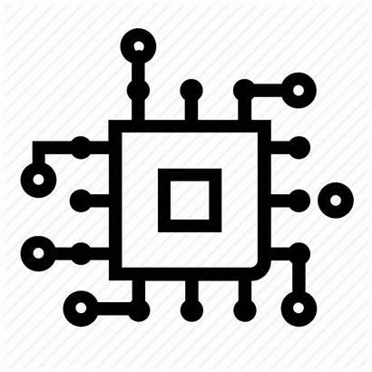 Icon Technology Tech Icons Future Digital Circuit