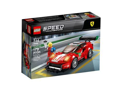 lego speed champions ferrari  gt scuderia corsa