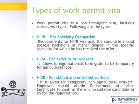 Work Permit Visa And About Us Immigration Law