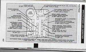 Ford Fuse Box Diagram Bronco 11 1988