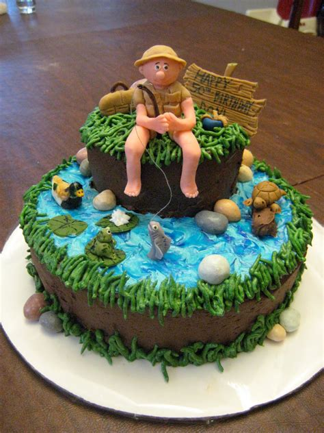 cake decorations for fishing cakes decoration ideas birthday cakes
