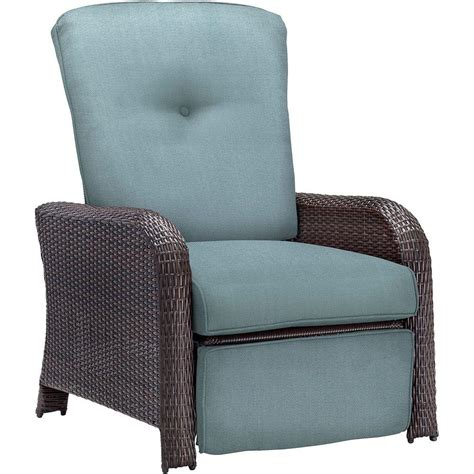 hanover strathmere all weather wicker reclining patio