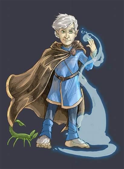 Halfling Wizard Pathfinder Deviantart Character Gnome 5e