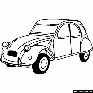 online coloring pages starting with the letter c page 7 With 1955 ford car clock