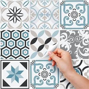 Stickers Carreaux Cuisine : ps00054 pvc autocollants carreaux pour salle de bains et cuisine stickers design oslo 25 ~ Preciouscoupons.com Idées de Décoration