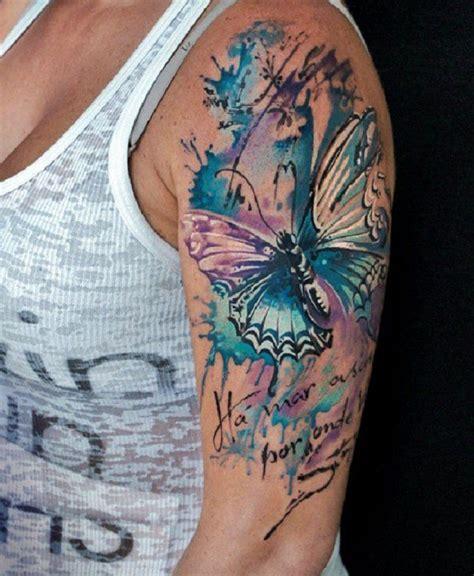 butterfly sleeve tattoo ideas  pinterest