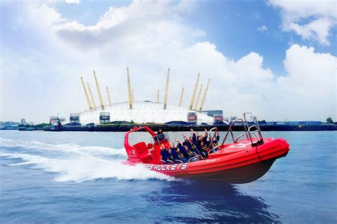 Speed Boat London Thames by Thames Rockets Speed Boat Voyage For Two