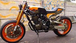 Honda New Megapro Cafe Racer Japstyle Modification