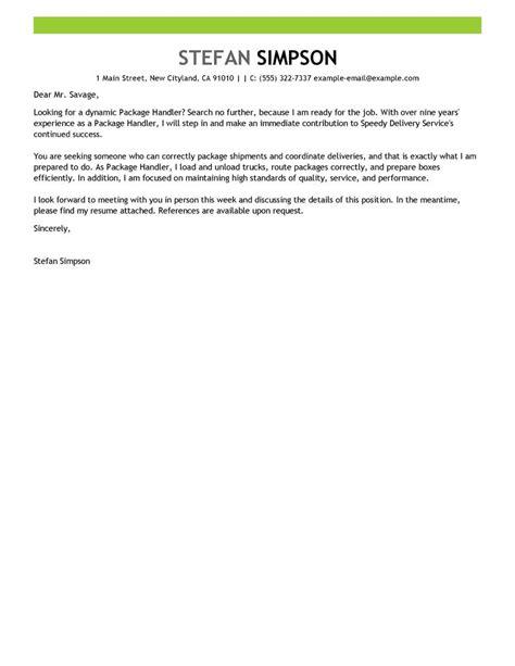 fedex package handler cover letter leading professional package handler cover letter exles