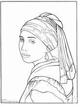 Self Portrait Coloring Getcolorings sketch template