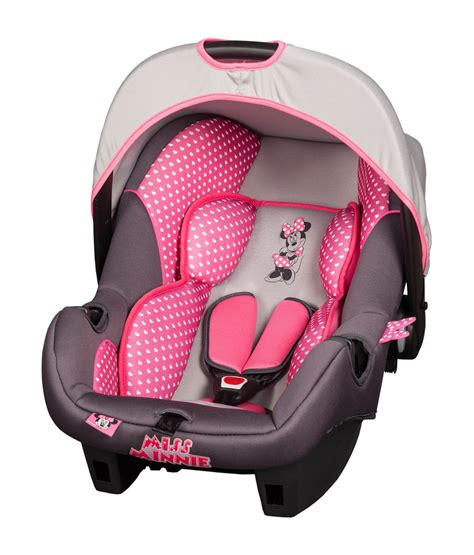 siege graco disney minnie mouse pink infant carrier baby car seat