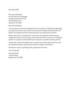 Browse Our Sample of Nurse Resignation Letter From Fulltime To Prn for Free in 2020
