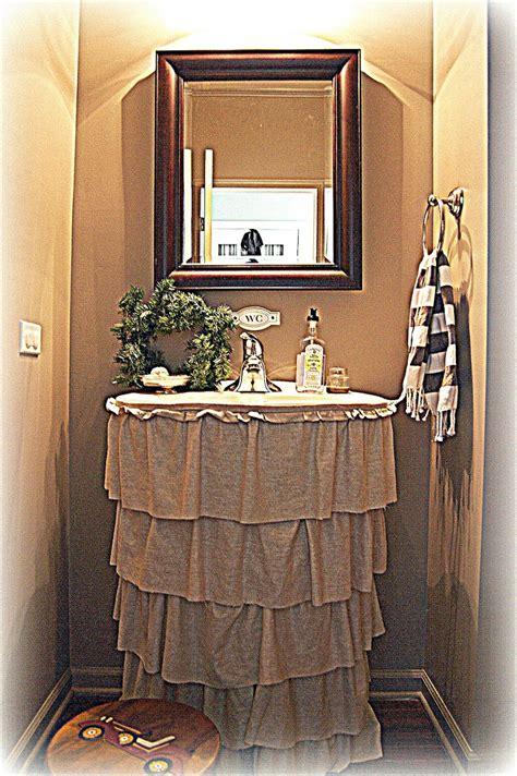 top  easy diy sink skirts