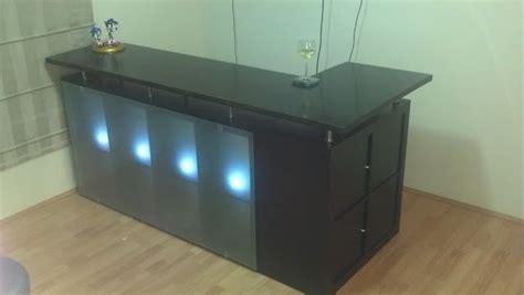 ikea hack bar turn into a reception desk for spa salon