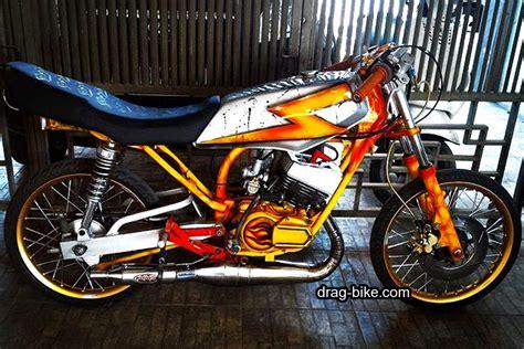 Foto Gambar Drag by 50 Foto Gambar Modifikasi Motor Rx King Drag Racing