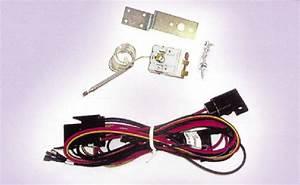 Street Rod Parts  U00bb Electric Fan Wire Harness With