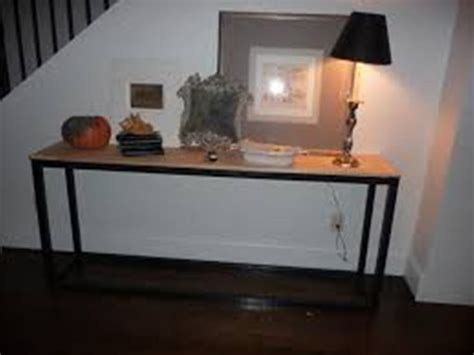 sofa table and stools top ten uses for an extra long sofa table home ideas