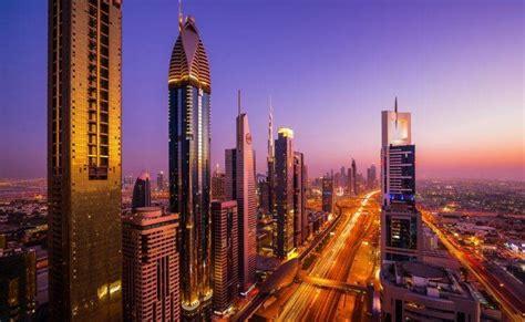 Dubai, City, Building, City Lights, Sunset Wallpapers Hd