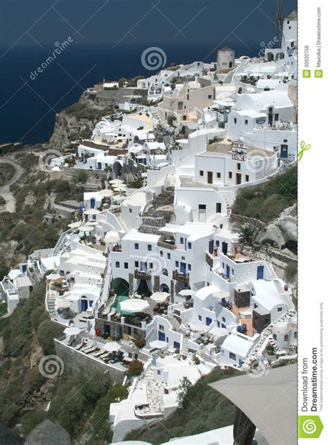 Oia City On Santorini Royalty Free Stock Photos Image