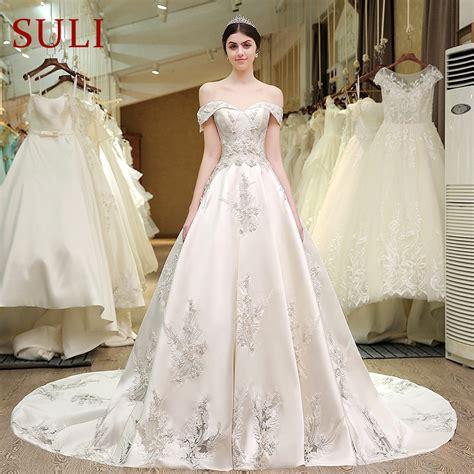 aliexpress com buy sl 83 designer wedding bridal gowns