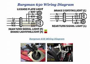 Brake Light Wire Question An650 For Topcase