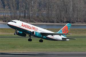 America West Airlines. I flew this to Vegas when I visited ...